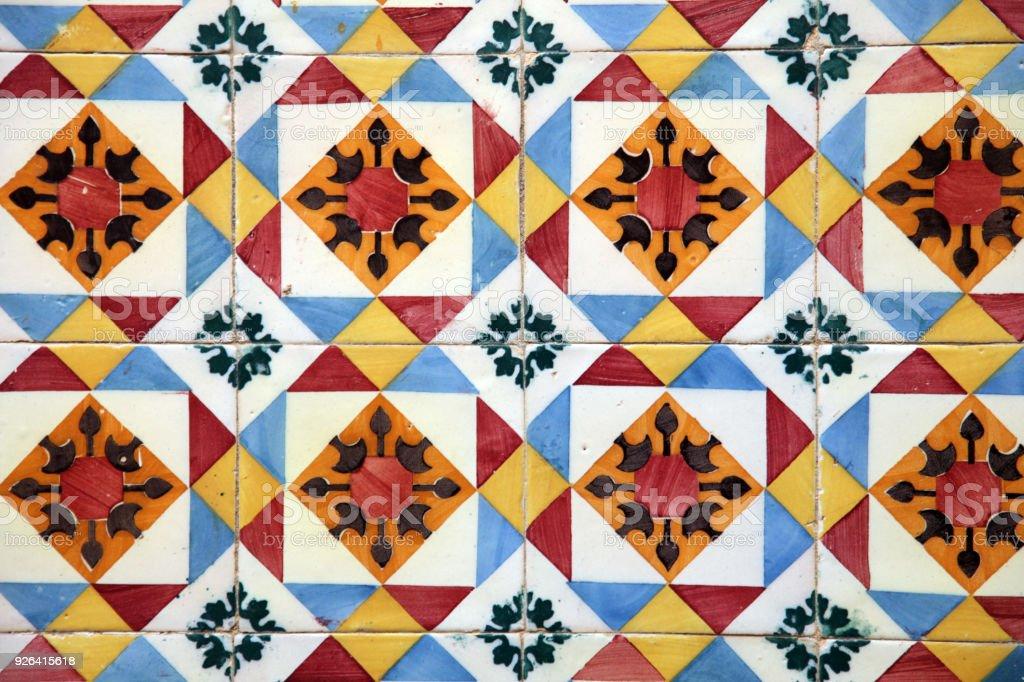 Gorgeous floral patchwork design. stock photo