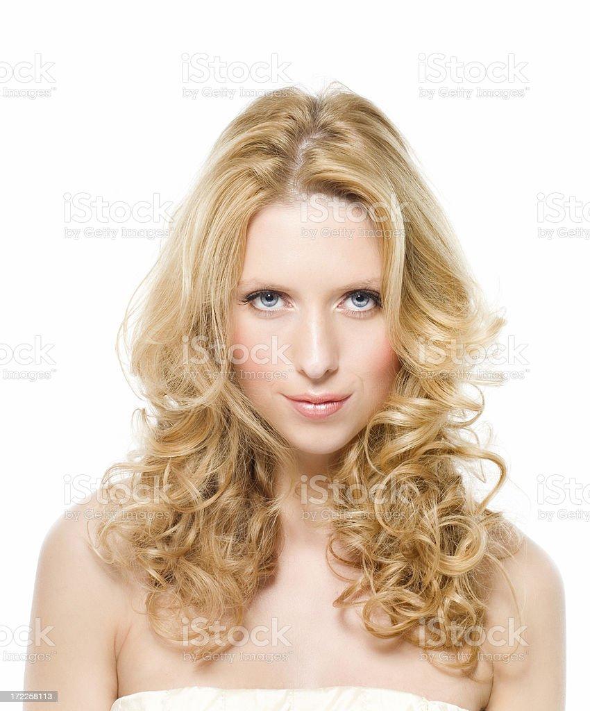 Gorgeous Hair royalty-free stock photo
