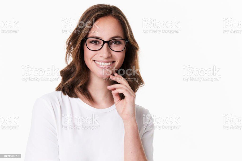 Gorgeous in glasses – zdjęcie