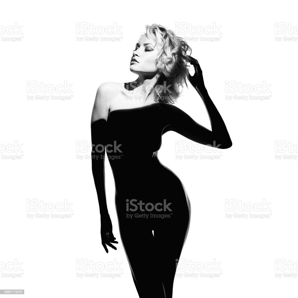 Gorgeous lady stock photo