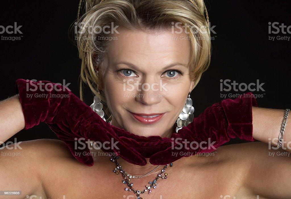 Splendido modello foto stock royalty-free
