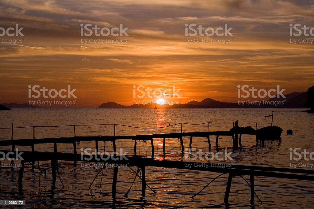 Gorgeous Sunset stock photo