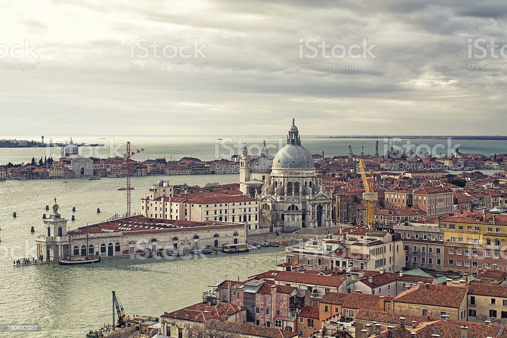 Gorgeous view of the Grand Canal royalty-free stock photo