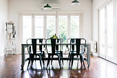 Gorgeous vintage styled dining room