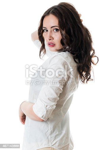 506152431istockphoto Gorgeous young brunette 467143888