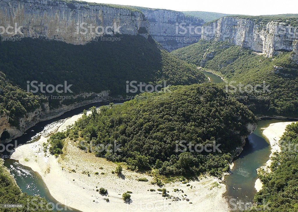 gorges de l''Ardèche - Photo