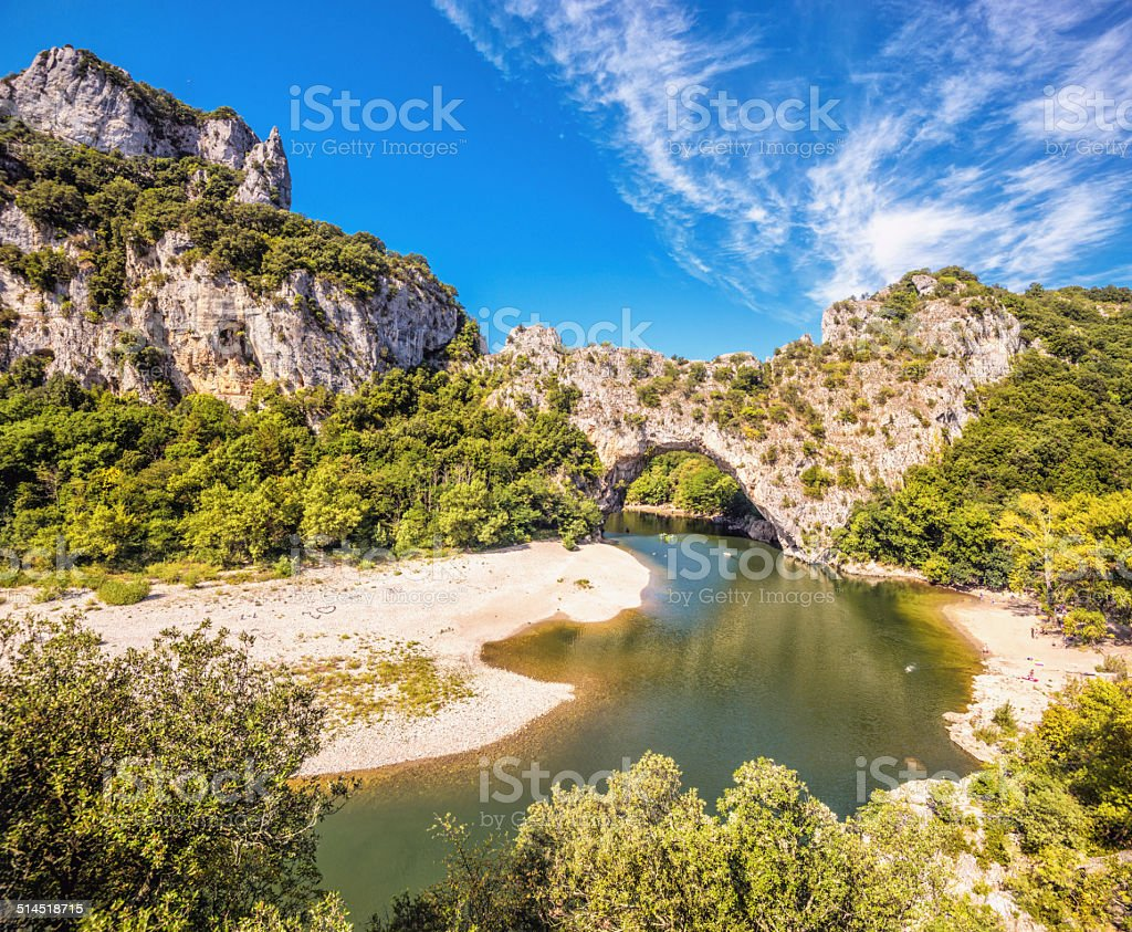 Gorges de l'Ardèche-Pont d ´ Arc-Vallon (France) - Photo