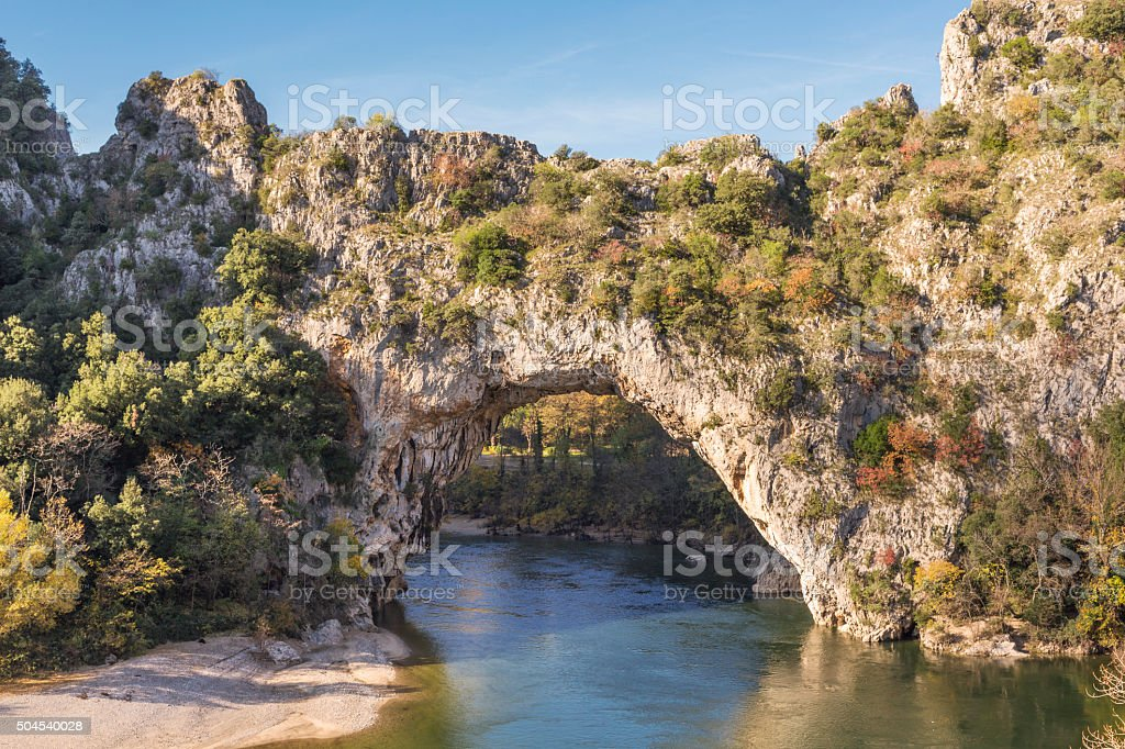 Gorges de l''Ardeche-Pont d