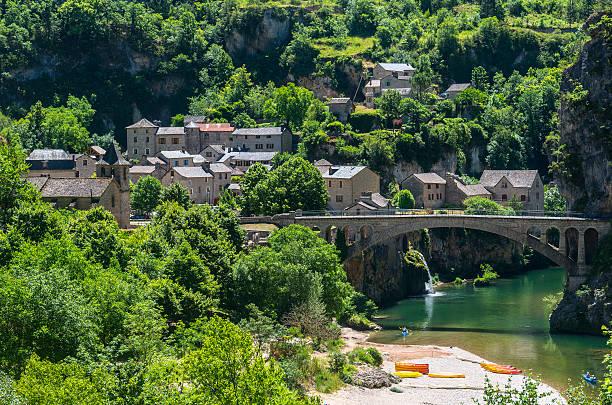 Gorges du Tarn - foto de acervo