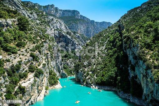 Gorges du Verdon, beautiful canyon