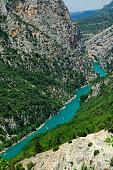 Gorges du Verdon, Provence-Côte d'Azur, France. The canyon