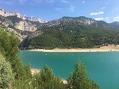 Amazing Gorges du Verdon in France.