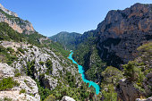 Gorges du Verdon in the Provence region of France, Europe.