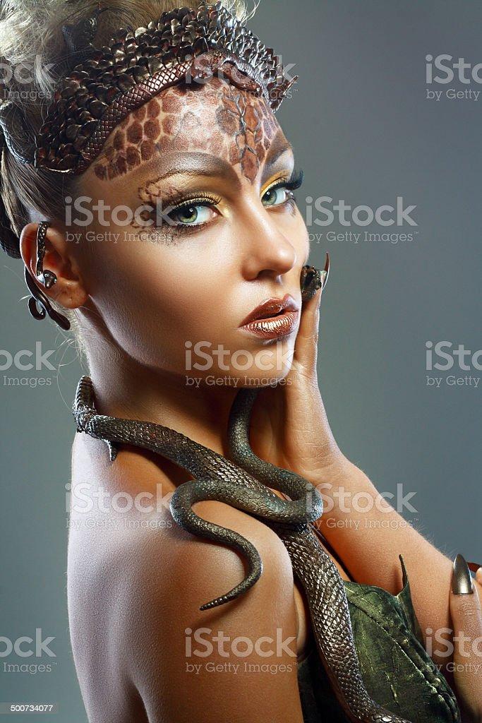 Gorgon stock photo