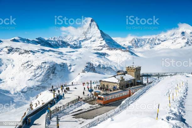 Gornergrat railway station switzerland in winter picture id1075663766?b=1&k=6&m=1075663766&s=612x612&h=ipemfimcsqip hf1n ncq2fceiytyorg9dn3yyw1dr0=