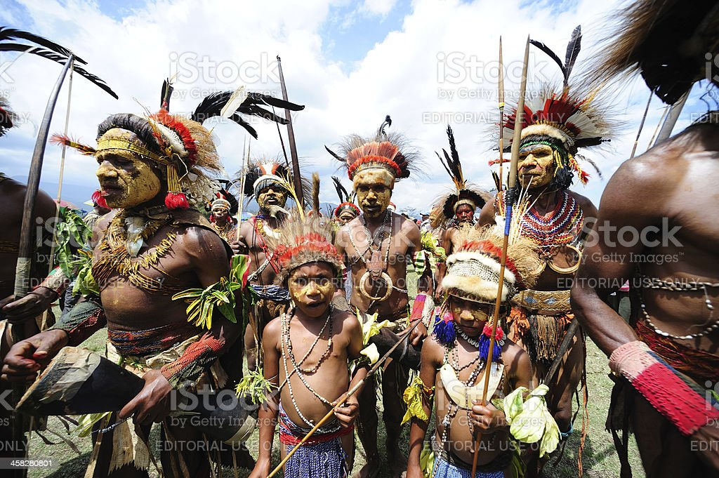 goroka stock photo