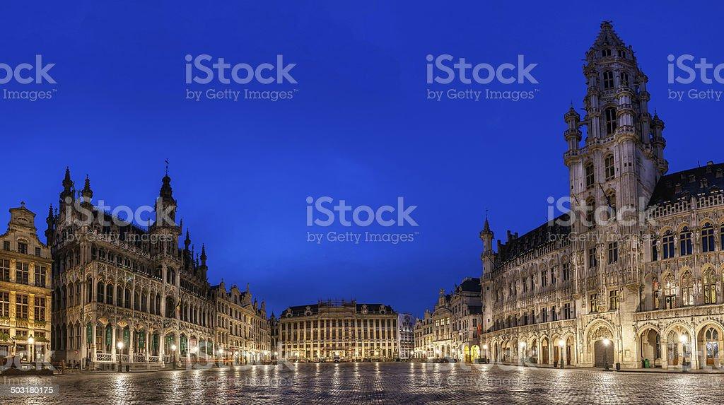 Gorte Market Brussels Belgium stock photo