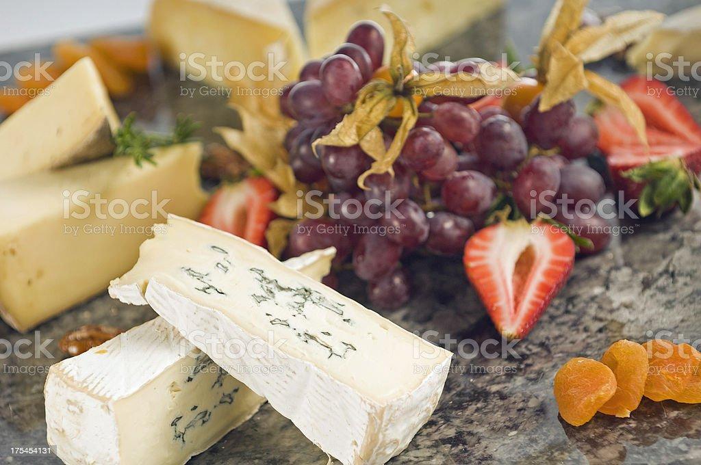 Gorumet Cheese Board royalty-free stock photo