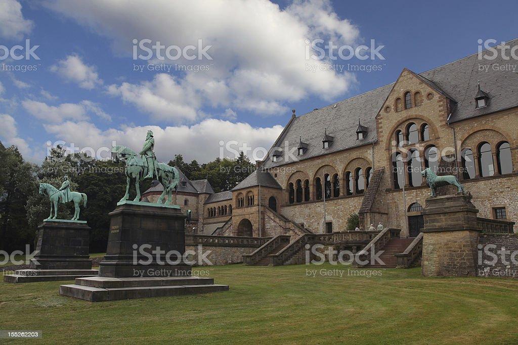 Goslar - Imperial palace stock photo