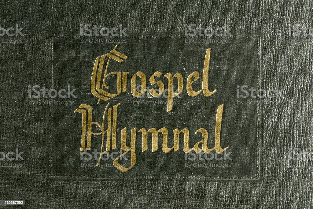 Gospel Hymnal stock photo