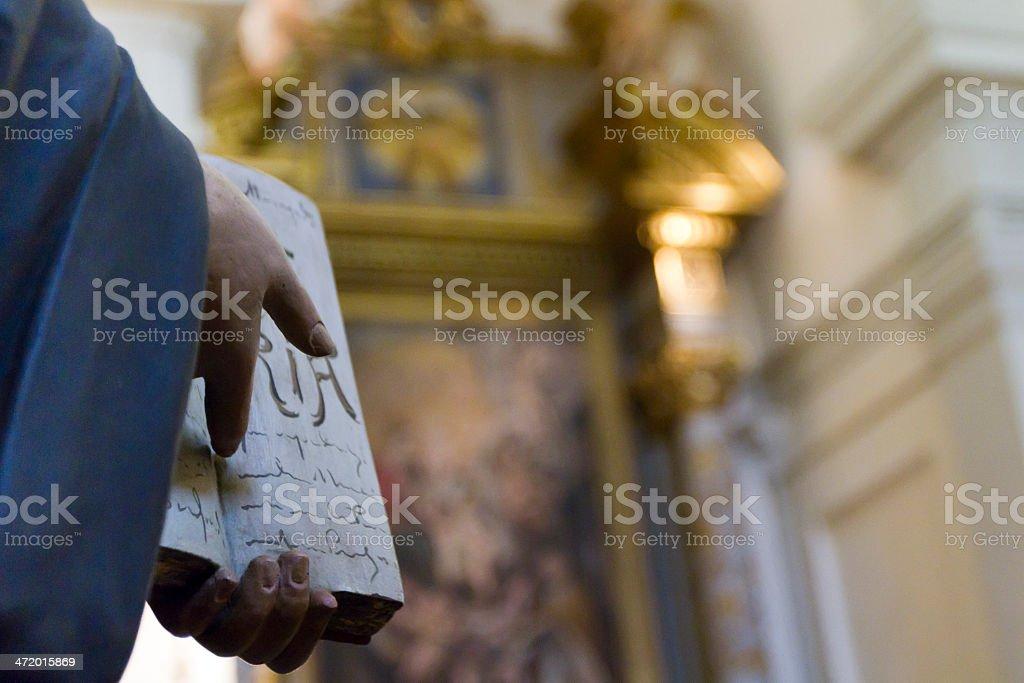 gospel in church stock photo