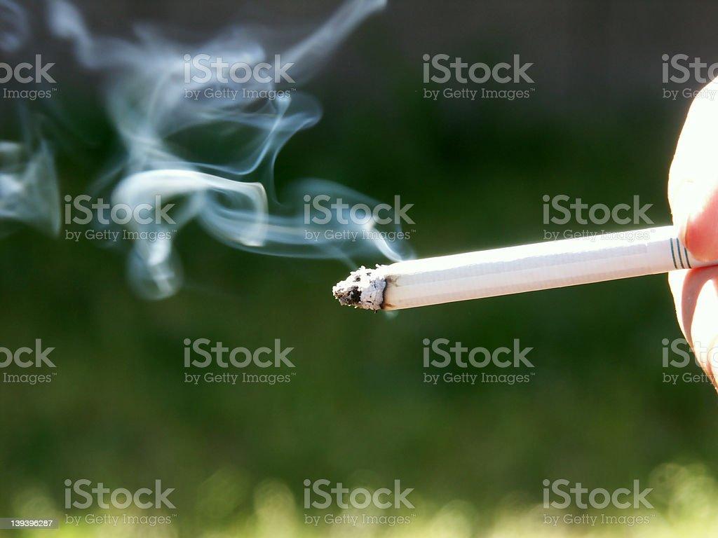 Got a Smoke 2 royalty-free stock photo