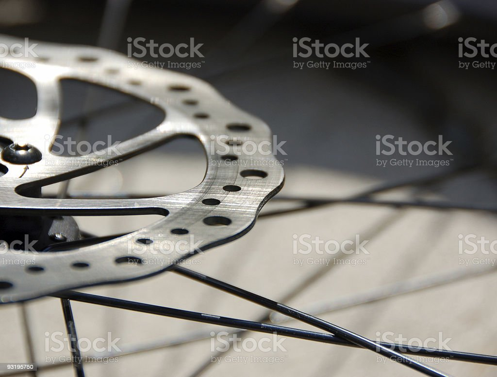Got Brakes? stock photo