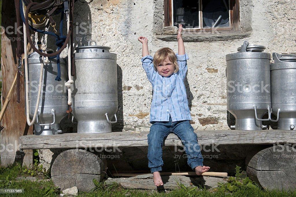Got Milk royalty-free stock photo