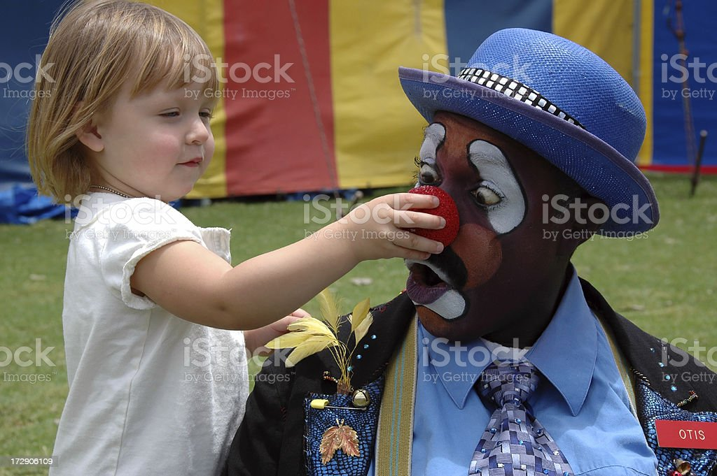 Got Your Nose royalty-free stock photo