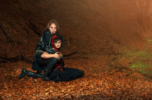 Goth Couple Stock Photo - Download Image Now