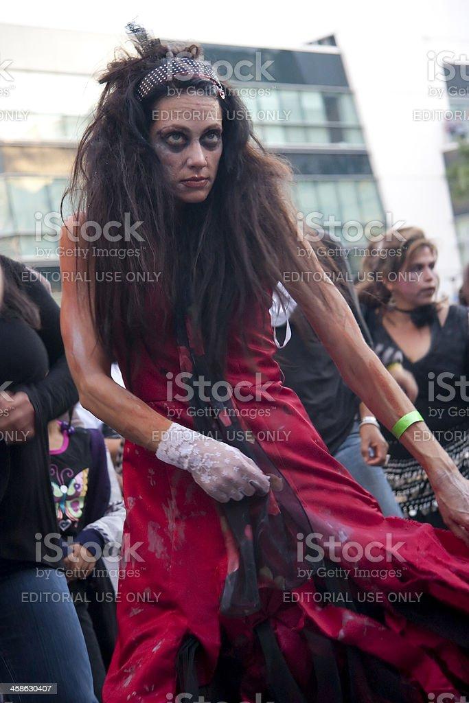 Goth Zombie royalty-free stock photo