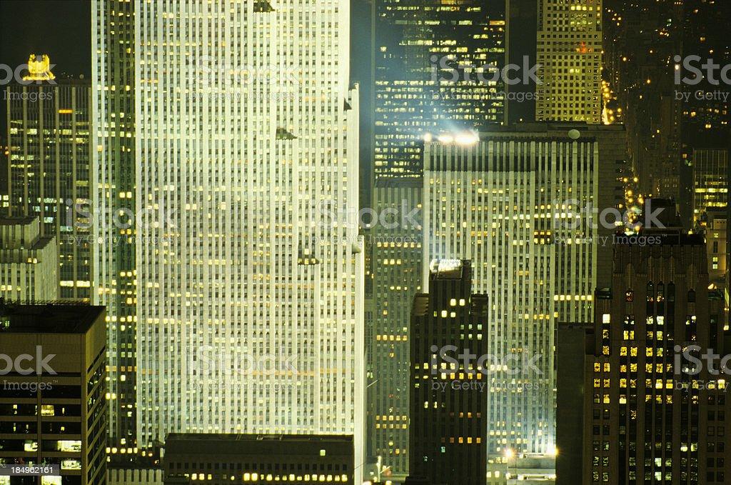 Gotham City royalty-free stock photo