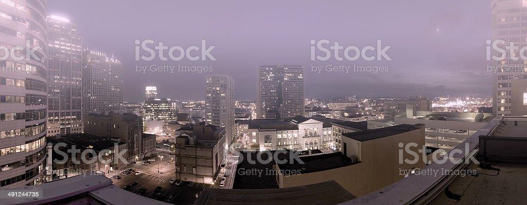 Gothamville royalty-free stock photo