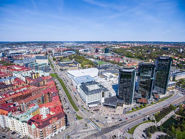 Gothenburg Aerial View stock photo