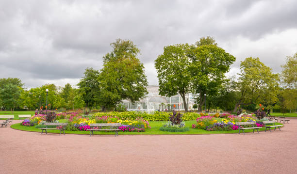 göteborg stadtgärten - gartenkies stock-fotos und bilder