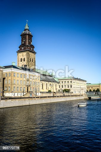 Gothenburg City Hall and the German Church, Sweden