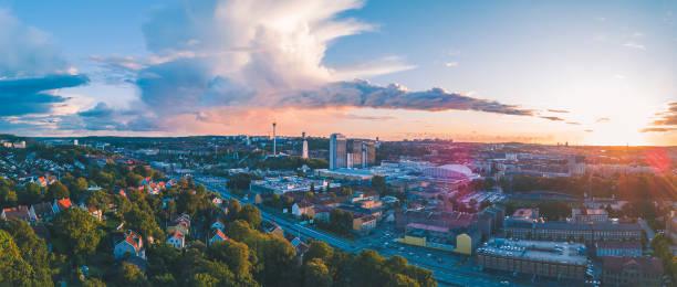 Gothenburg City Panorama stock photo