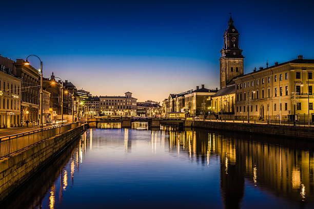 Gothenburg city stock photo