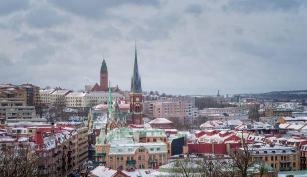 Gothenburg cityscape stock photo