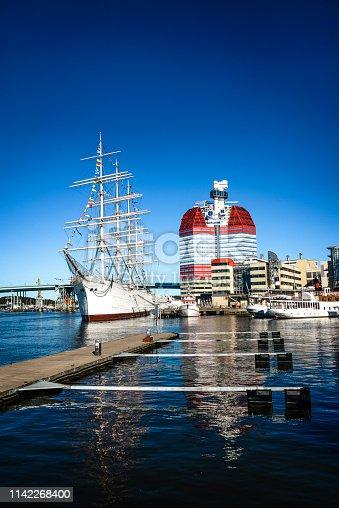 Gothenburg Harbor In Sweden