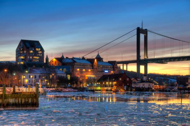 gothenburg harbour w zimie - szwecja zdjęcia i obrazy z banku zdjęć