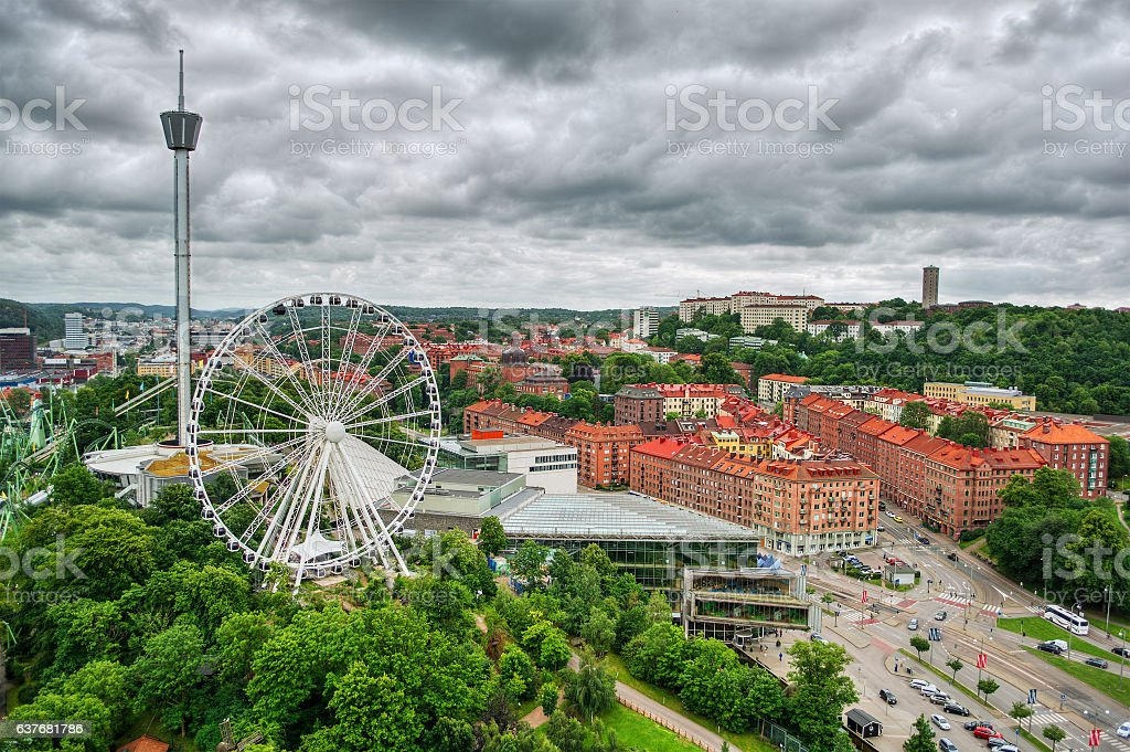 Gothenburg HDR stock photo