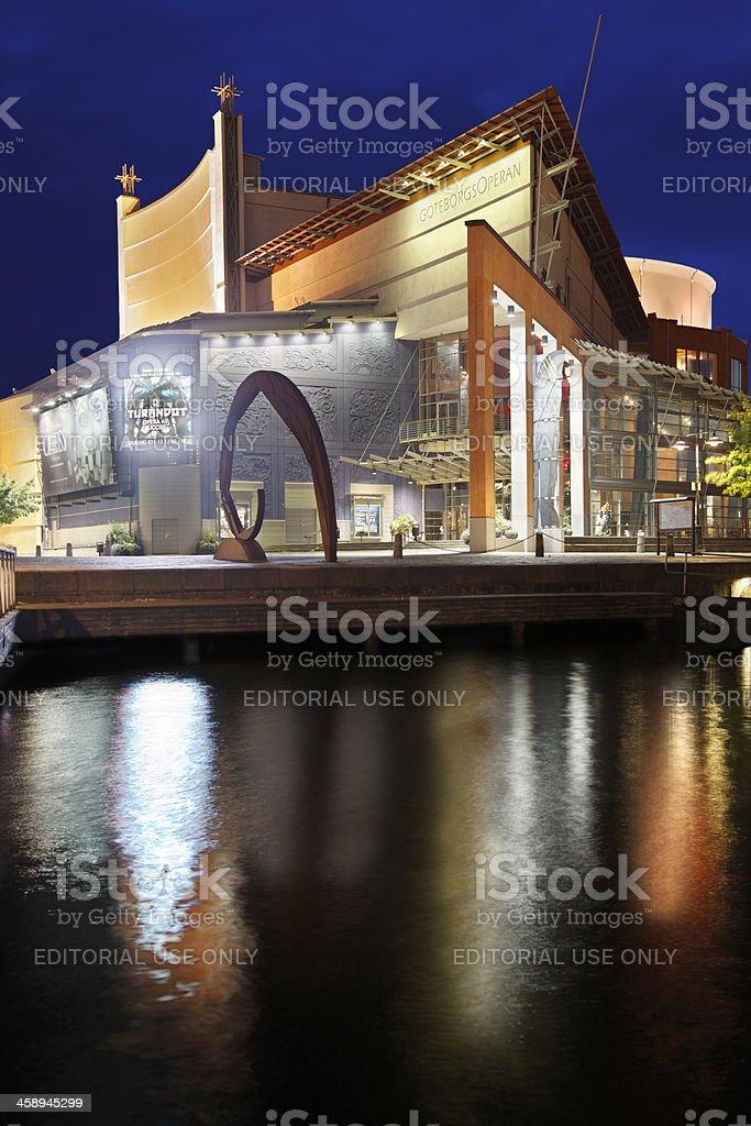 Gothenburg Opera House stock photo