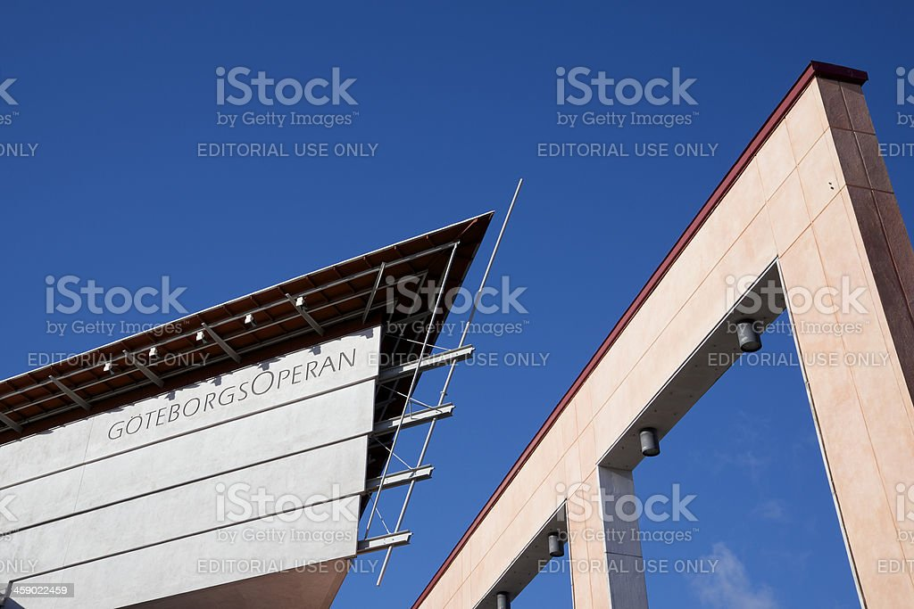 Gothenburg Opera House, Sweden stock photo