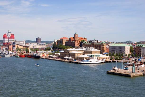 Gothenburg skyline stock photo