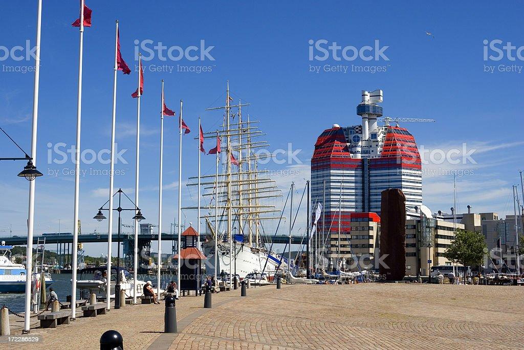 Göteborg waterfront und'Lego Parlament – Foto
