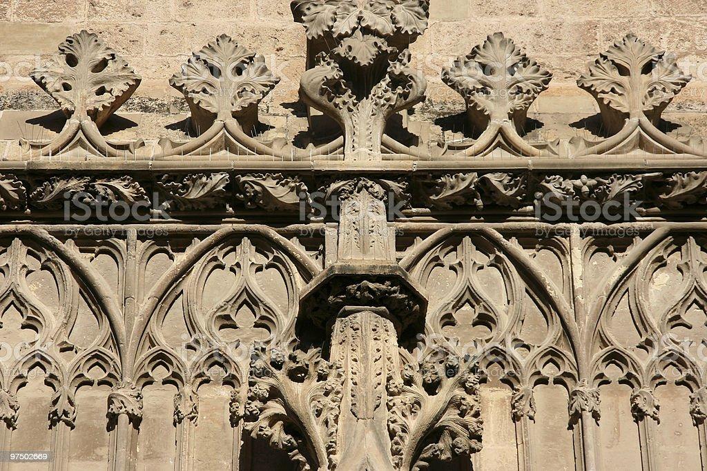 Gothic art decoration royalty-free stock photo