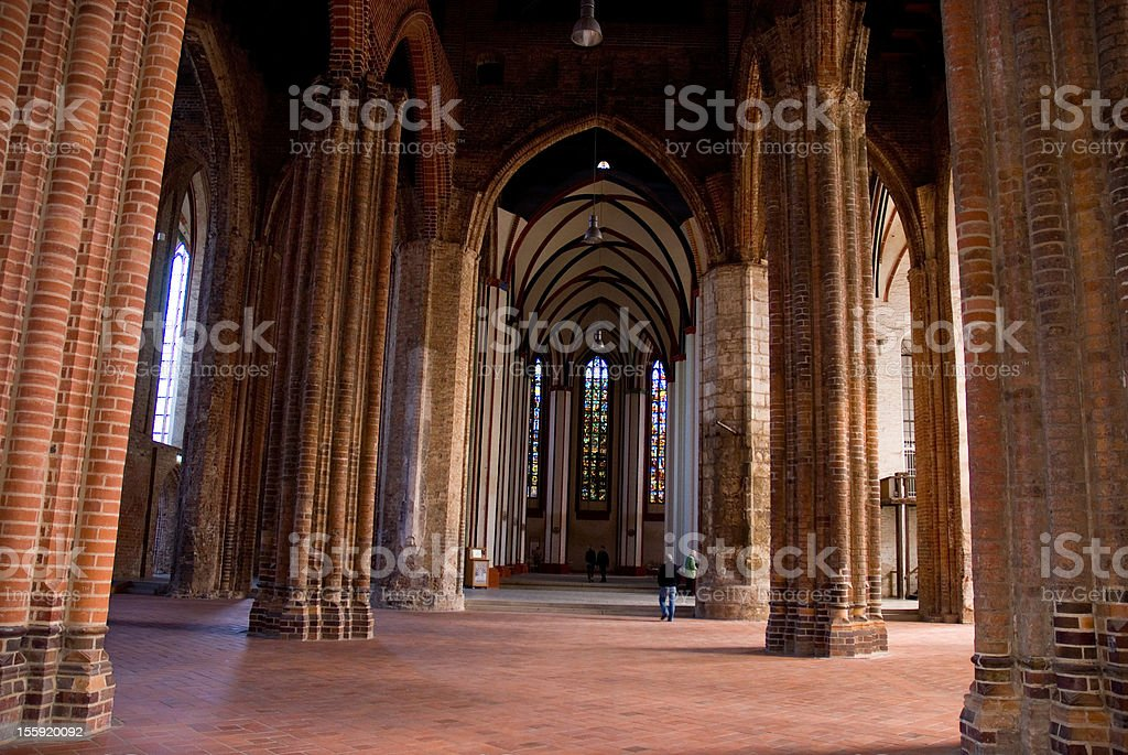 Gothic Cathedral in Germany stock photo