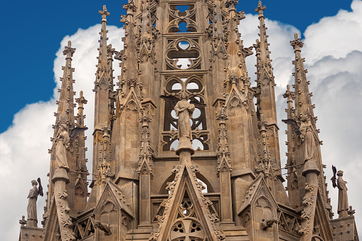 Gothic cathedral of Barcelona - Spain Europe