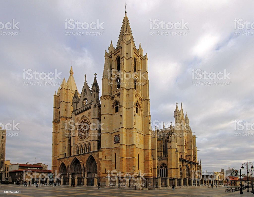 Gothic cathedral royalty-free stock photo